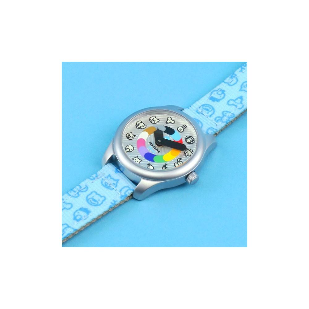 Bavoir Foulard étoiles gris sur rose